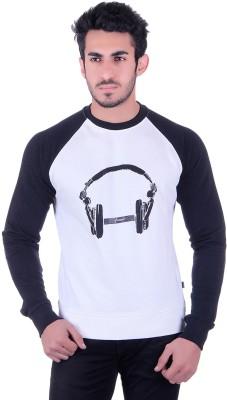 Numalo Full Sleeve Printed Men's Sweatshirt
