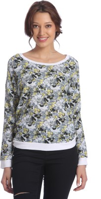 Vero Moda Full Sleeve Printed Womens Sweatshirt