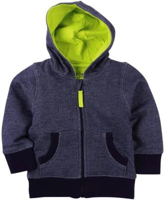 Mom & Me Full Sleeve Solid Baby Boy's Sweatshirt