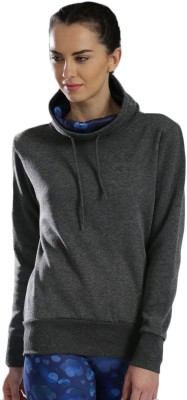 HRX by Hrithik Roshan Full Sleeve Solid Women's Sweatshirt at flipkart