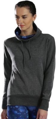 HRX by Hrithik Roshan Full Sleeve Solid Womens Sweatshirt