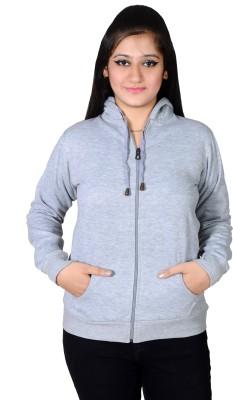 Ruby Wears Full Sleeve Solid Women's Sweatshirt