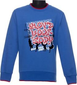 Li'l Tomatoes Full Sleeve Printed Boys Sweatshirt