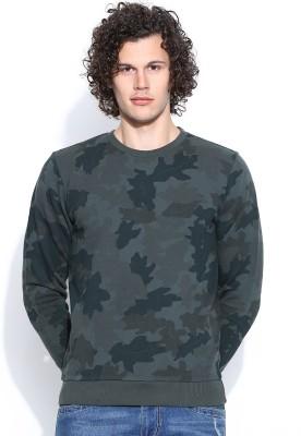 United Colors of Benetton Full Sleeve Printed Men's Sweatshirt
