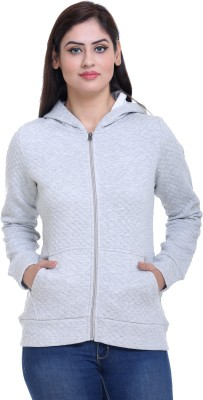 Trufit Full Sleeve Solid Women's Sweatshirt