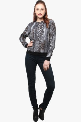 XnY Full Sleeve Printed Women's Sweatshirt