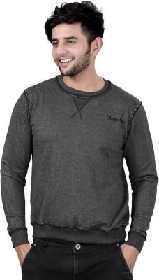 Stephen Armor Full Sleeve Solid Men's Sweatshirt