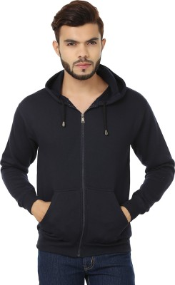Weardo Full Sleeve Solid Men's Sweatshirt
