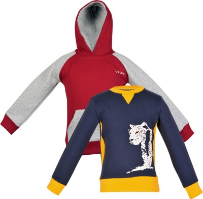 Gkidz Full Sleeve Printed Boy's Sweatshirt