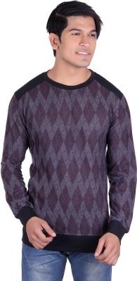 Deutz Full Sleeve Argyle Men's Sweatshirt