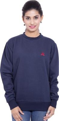 Saiarisha Full Sleeve Solid Women's Sweatshirt