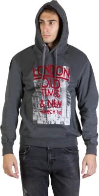 Burdy Full Sleeve Printed Men's Sweatshirt