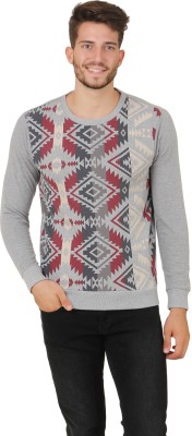 Cherymoya Full Sleeve Printed Men's Sweatshirt