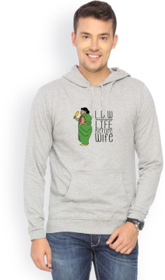 Campus Sutra Full Sleeve Graphic Print Mens Sweatshirt