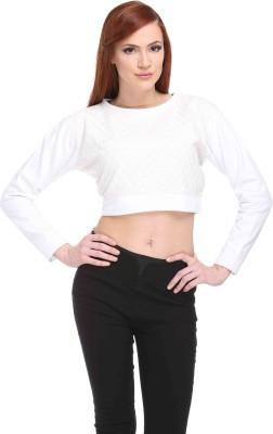 CLUB YORK Full Sleeve Solid Women,s Sweatshirt