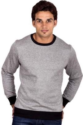 URBAN PITARA Full Sleeve Solid Men's Sweatshirt