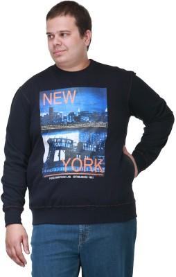 PlusS Full Sleeve Printed Men's Sweatshirt