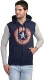 Captain America Sleeveless Printed Men's...