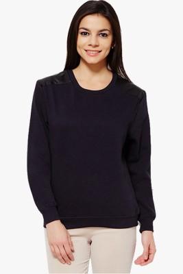 PNY Full Sleeve Solid Women's Sweatshirt