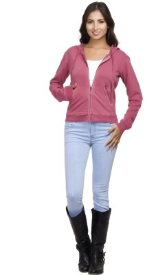 Orous Full Sleeve Solid Women's Sweatshirt
