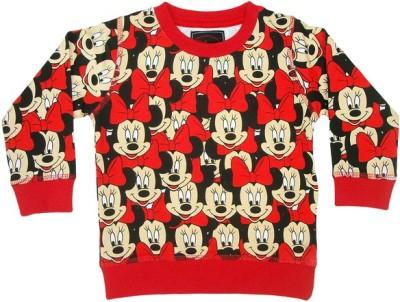 Mickey & Friends Full Sleeve Printed Girl's Sweatshirt