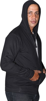 La polo Full Sleeve Solid Men's Sweatshirt