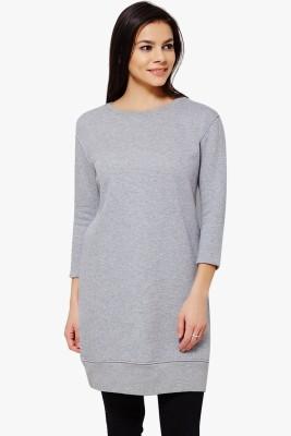 PNY 3/4 Sleeve Solid Women's Sweatshirt