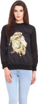 Desi Urban Full Sleeve Printed Women's Sweatshirt