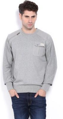 883 Police Full Sleeve Solid Men's Sweatshirt