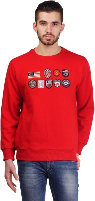 Pierre Carlo Full Sleeve Solid Men's Sweatshirt