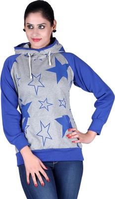 Vivid Bharti Full Sleeve Applique Women's Sweatshirt
