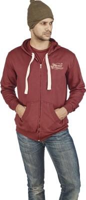 Wear Your Opinion Full Sleeve Solid Men's Sweatshirt