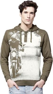 Roadster Full Sleeve Printed Mens Sweatshirt