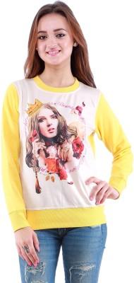 Dove Full Sleeve Printed Women,s Sweatshirt