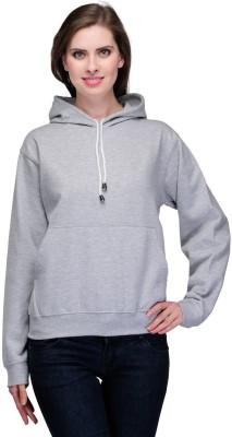 Goodtry Full Sleeve Solid Women's Sweatshirt