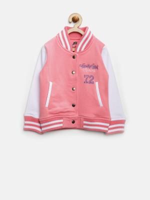 Yk Full Sleeve Solid Girl's Jacket