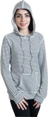Rute Full Sleeve Striped Girl's Sweatshirt
