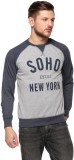 CLUB YORK Full Sleeve Printed Men's Swea...