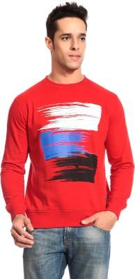 CLUB YORK Full Sleeve Printed Men's Sweatshirt
