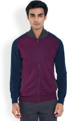 Park Avenue Full Sleeve Solid Men's Sweatshirt