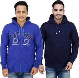 Candy House Full Sleeve Solid Men's Sweatshirt