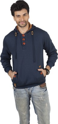 FashionScrapbook Full Sleeve Solid Men's Sweatshirt