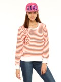 Vvoguish Full Sleeve Striped Women's Swe...