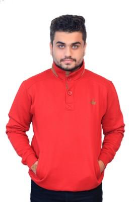 Men In Class Full Sleeve Self Design Men's Sweatshirt