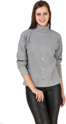 Texco Full Sleeve Self Design Women's Sweatshirt at flipkart