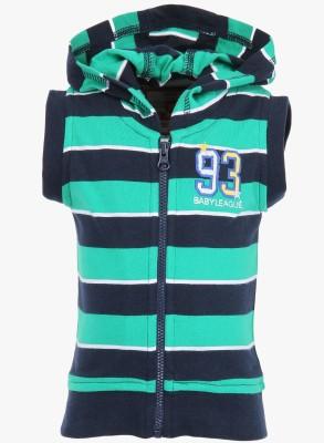 Baby League Sleeveless Striped Baby Boy's Sweatshirt