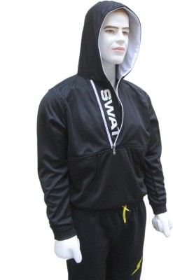 Belladonna Full Sleeve Self Design Men's Sweatshirt