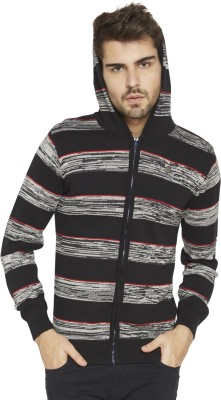 Globus Full Sleeve Striped Men,s Sweatshirt
