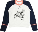 Yk Full Sleeve Printed Boy's Sweatshirt