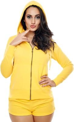 Coucou by Zivame Full Sleeve Solid Women's Sweatshirt
